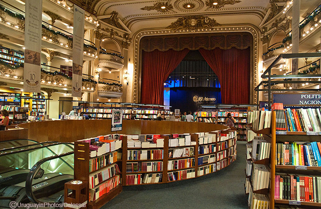 Ateneo Grand Library Theater Buenos Aires